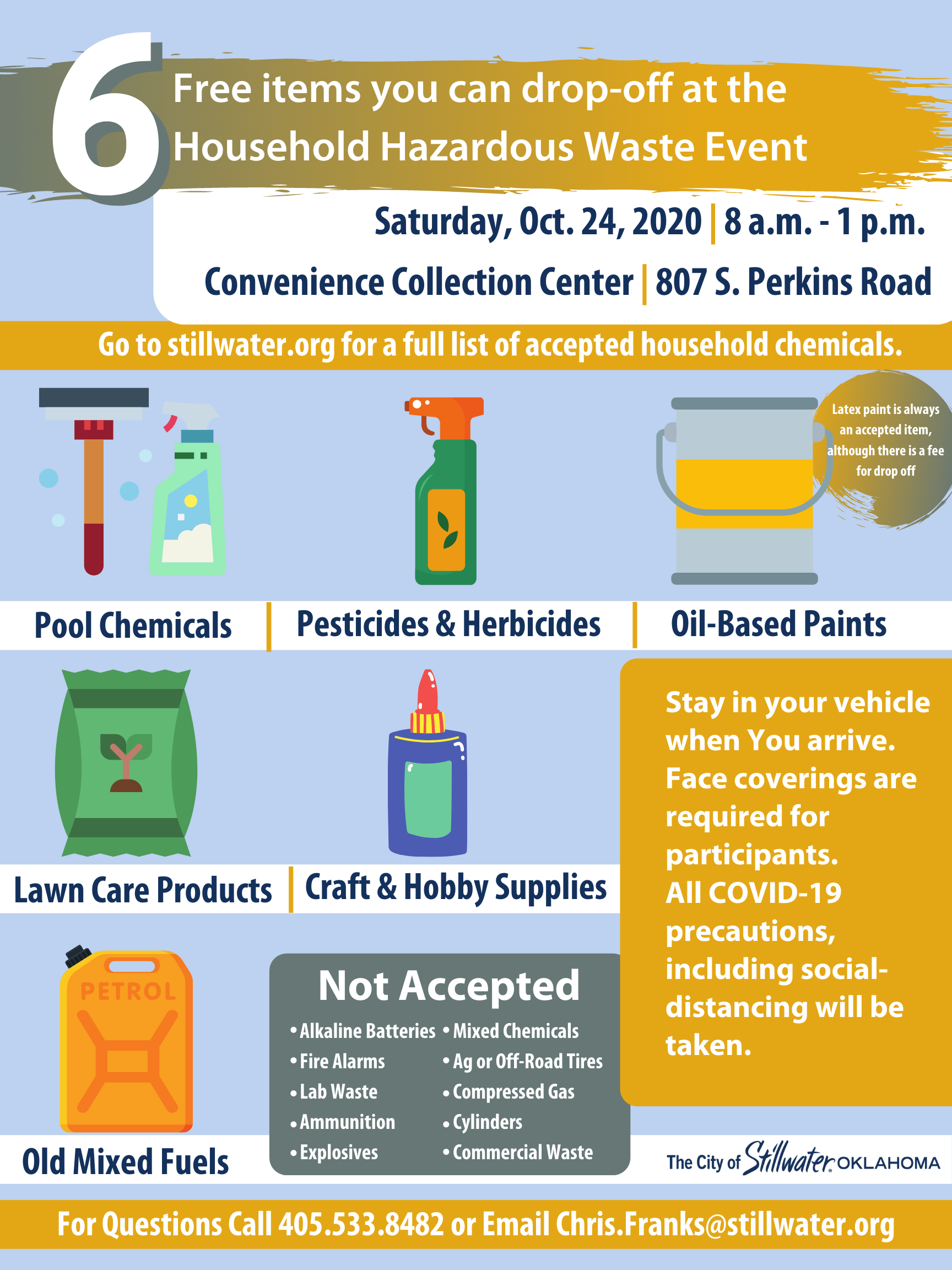 Household Hazardous Waste Event poster