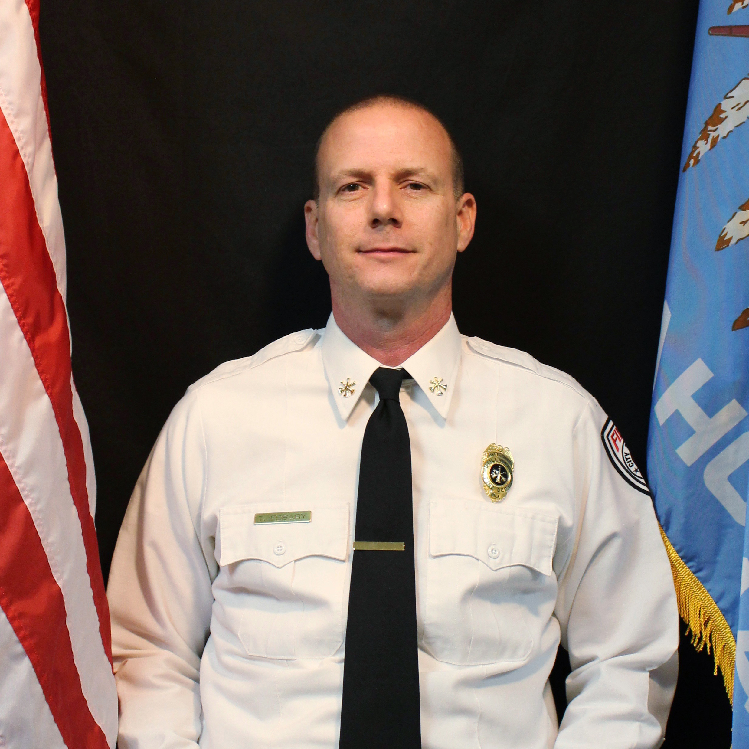 Photo of C. Shift Battalion Chief Terry Essary