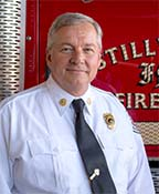 Assistant Fire Chief Robert Black