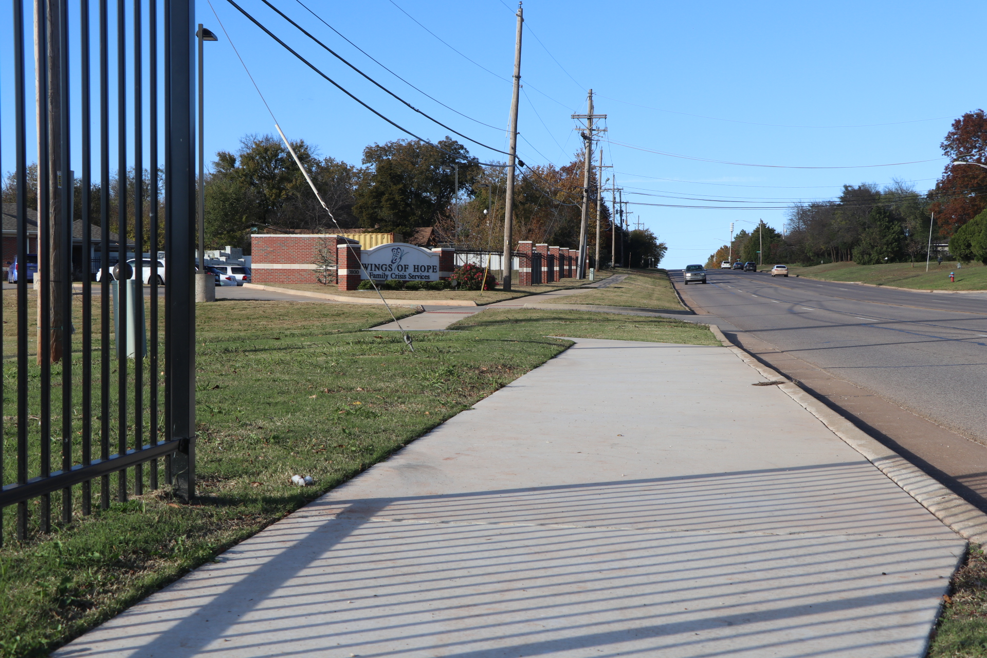 Photo of ADA Compliant Sidewalk near Wings of Hop